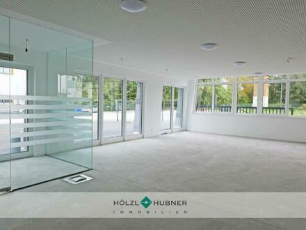 All-in-one: Ausstellungsfläche, Halle, Büro