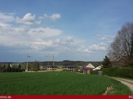 Stadt und Natur vereint - das haben Sie auf dem schönen Eckgrundstück in Ostrach
