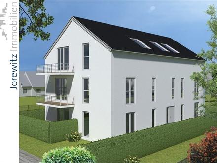 Gütersloh - Nähe Stadtpark: Zentrale 2 Zimmer-Neubauwohnung mit 2 Terrassen und Einbauküche