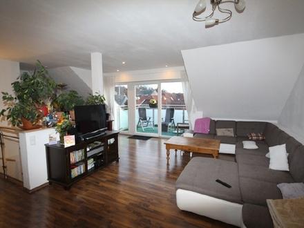 Der Wohnraum (Maisonette)