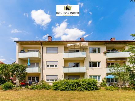 Vermietete 2 Zi.-Wohnung mit Balkon, in ruhiger und grüner Lage von Leinf.-Echterdingen (Leinfelden)