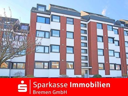 Helle 3-Zimmer-Eigentumswohnung mit Tiefgaragenstellplatz in der Nähe vom Grambker See