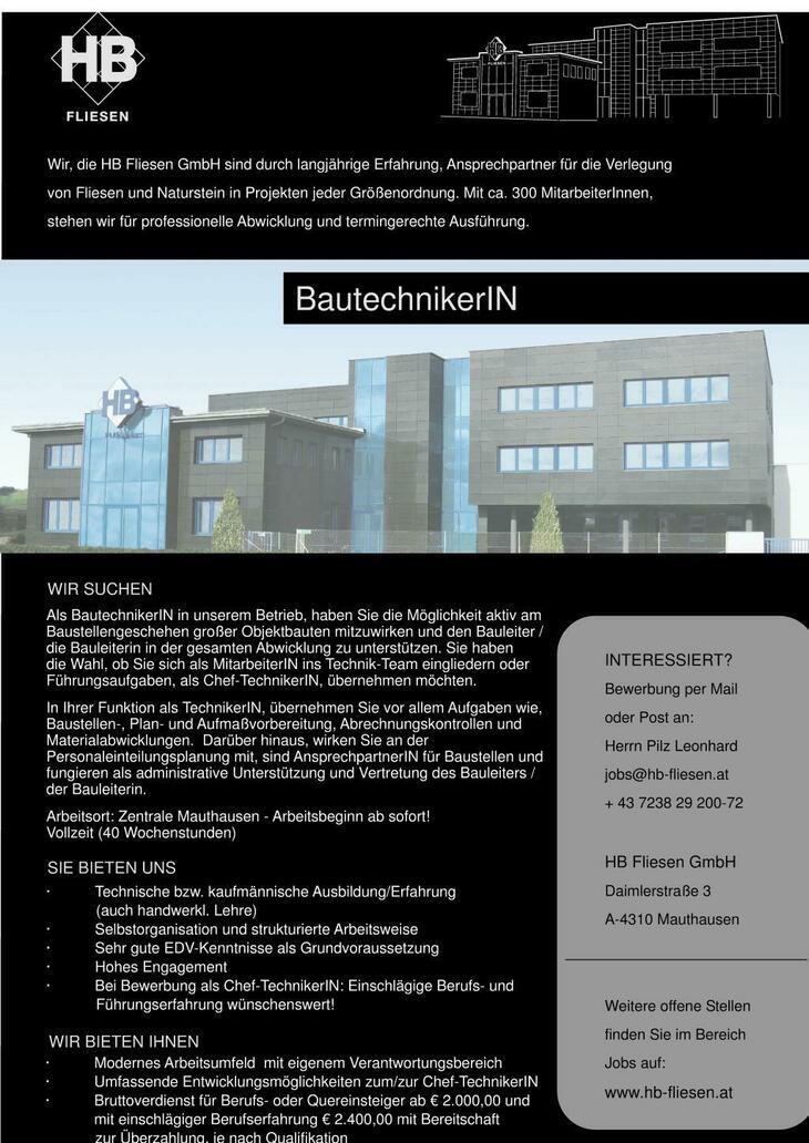 Wir, die HB Fliesen GmbH sind durch langjährige Erfahrung, Ansprechpartner für die Verlegung von Fliesen und Naturstein in Projekten jeder Größenordnung. Mit ca. 300 Mitarbeitern,