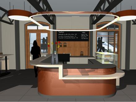 NEU - Tagescafé im Kolbermoorer Bahnhof