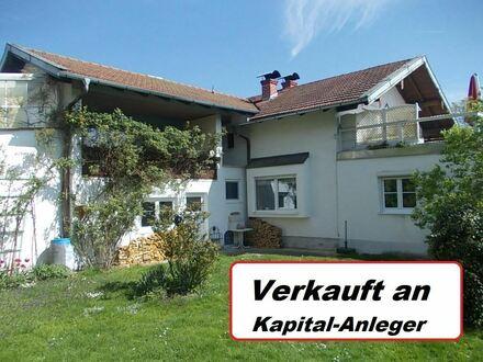 *Individuelles, älteres 2 Fam.-Haus (sicher vermietet) in schöner Wohnlage Nähe Rosenheim
