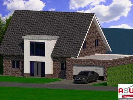 Luxuriöses Niedrigenergie-Einfamilienhaus mit Doppelgarage und direkter Seelage ! (Neubau / Erstbezug)