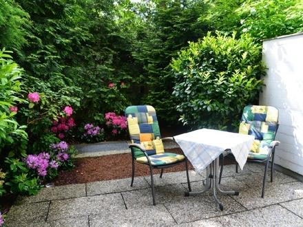 Möblierte 1-Zi.-Whg. mit Best-Rendite und idyllischem Garten