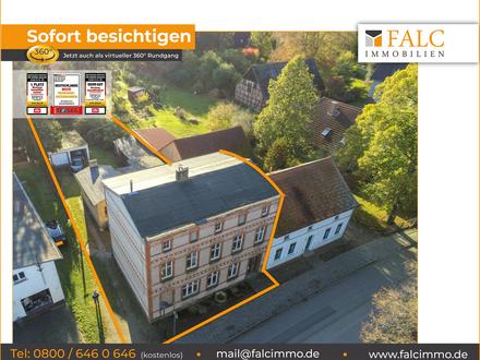 Mehrgenerationshaus im Dorfzentrum mit viel Potenzial und Nebengelass!!