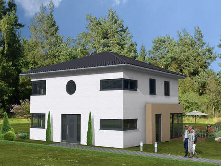 Großzügige Neubau-Stadtvilla in Hüllhorst-Oberbauerschaft
