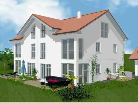 **TOP-Neubau-DHH** mit idealer Anbindung in den Münchner Süden u. Osten: Große, exklusive Haushälfte mit Platz (ideal für…