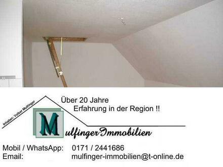 1 Zi. DG Wohnung mit Stellplatz und Singleküche in Höchstadt