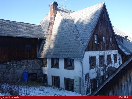 Vermietetes Bauernhaus als Doppelhaushälfte mit Garage in zentraler Lage