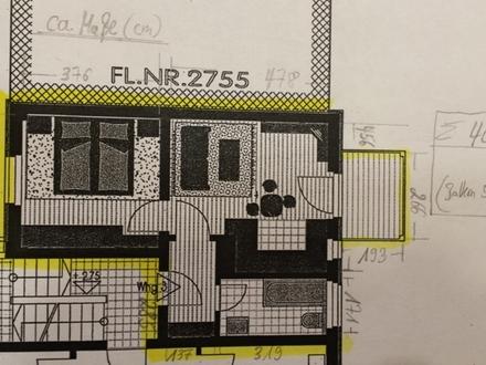 2 ZKB 40 m² schöne ruhige 2-Zi-Wohn., 1. OG , EBK, Balk., innenstadtnah,...