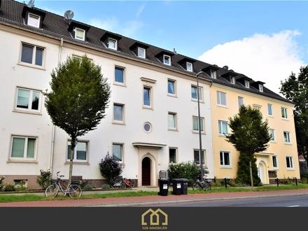 Reserviert: Kapitalanlage: Huckelriede / Frisch renovierte 3-Zimmer Wohnung nahe dem Flughafen