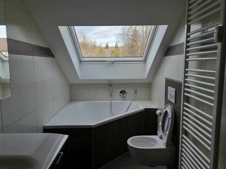 Gepflegte 4-Zimmer-Dachgeschosswohnung mit Einbauküche in Passau