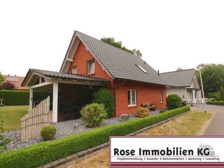 PERFEKT: Junges Einfamilienhaus in ruhiger Siedlungslage von Petershagen.