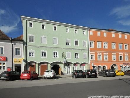 Geschäftsfläche an der Donaupromenade in Aschach a.d. Donau - sanierungsbedürftig