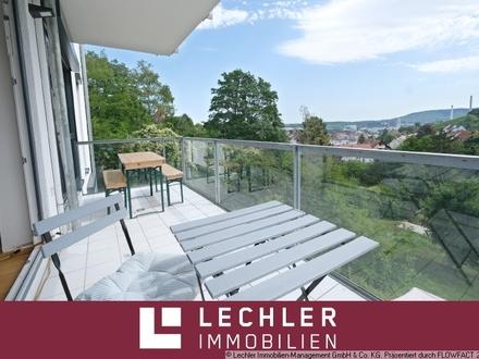 Helle 4-Zimmer-Wohnung mit Garten, Balkon und Weitblick