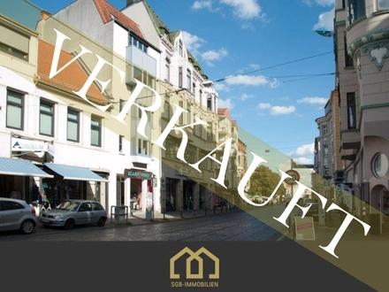 Verkauft: Viertel / Anlage: Traumhafte, modernisierte Stadtwohnung mit Balkon in Bestlage