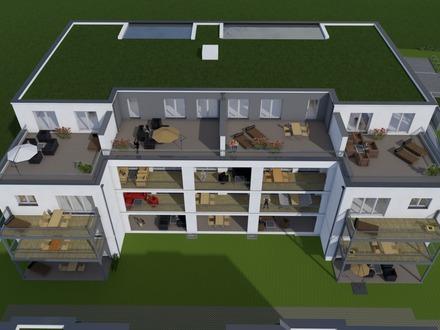 Erstbezug! 4-Zimmer-Wohnung mit Balkon