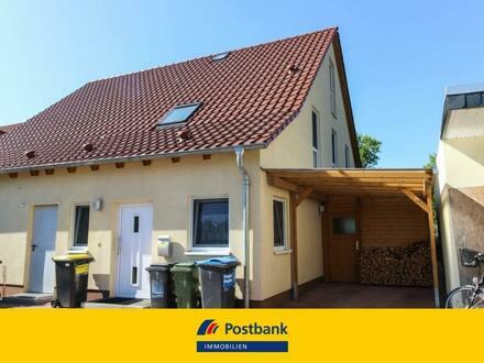 Neuwertige Doppelhaushälfte aus dem Jahr 2011 in Braunschweig-Gliesmarode