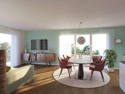 ++ Neubau in historischem Charme++ 2-Zimmer-Wohnung mit Terrasse und Garten in Bretzenheim