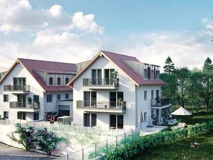 Modern und Stadt nah – schöne 3-Zimmer-Neubau-Eigentumswohnung