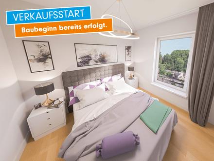 Living on top! Moderne 3-Zimmer-Maisonettewohnung mit Dachterrasse, Fußbodenheizung, TG