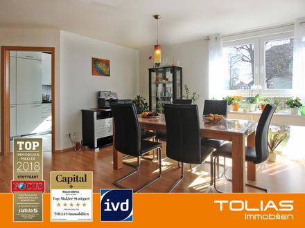 Wohntraum! Geschmackvolle 4-Zimmer-Wohnung mit Balkon, Garten, Tiefgaragen-, + Außenstellplatz.