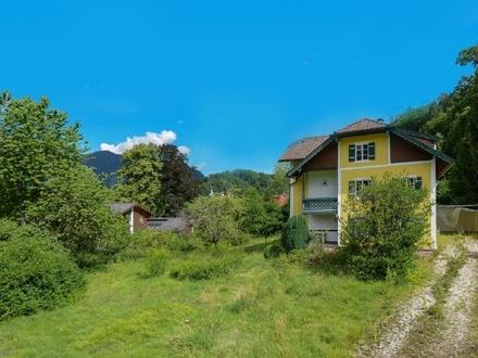 Grundstück mit Altbestand-Großgmain-Salzburg-Ansicht