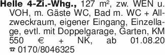 Helle 4-Zi.-Whg., 127 m², zw....