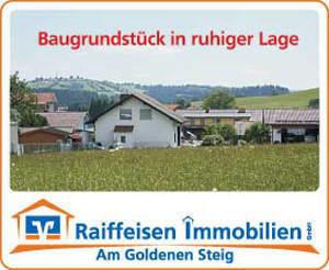 Ruhige Aussichtslage - Baugrundstück bei Hohenau