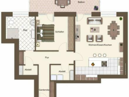 Wohnung 5 - I. OG, Mitte