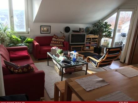 Klasse 2 Zimmer-Galerie-Wohnung mit Dachterrasse für Singles oder Paare