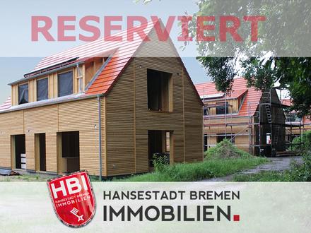 Worpswede / Bötjerscher Hof - Großzügiges Einfamilienhaus in Holzrahmenbauweise mit Garten