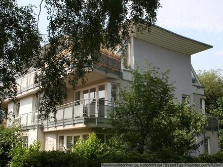 Helle 2-Zimmer-Wohnung mit großem Balkon in ruhiger Wohnlage