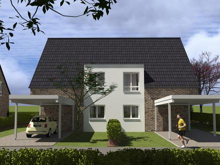 Neubau Doppelhaushälften in Bohmte - Haus Nr. 13a
