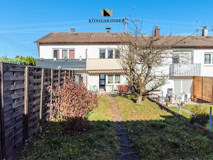 Kleines Haus in ruhiger Lage - sonnige Terrasse - großer Garten - Garage - Renovierungsbedürftig