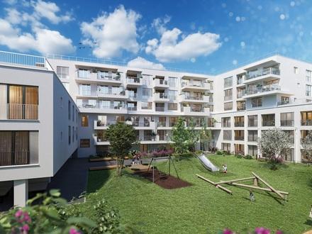 PARACELSUS GARTEN: 2 Zimmer Neubau Wohnung mit Loggia