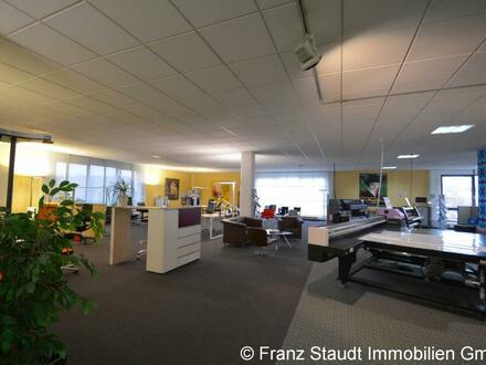 Ausstellung-Büro-Verkauf: Gewerbefläche (300 - 1.000 m² Nfl.) in hoch frequentierter Sichtlage