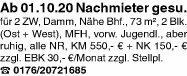 Wohnung 73m² in 63741 Aschaffenburg