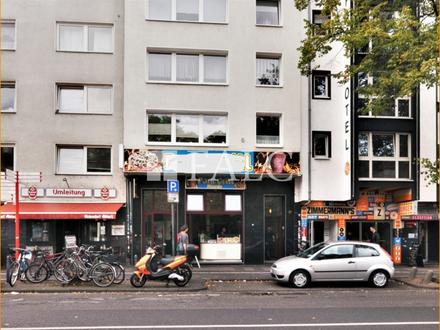 Seltenheit, Gewerbeobjekt und Wohnung in Spitzenlage von Köln!