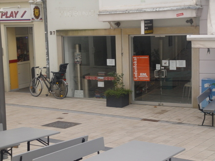 Förderprogramm Innenstadt - Ladengeschäft in der Fussgängerzone