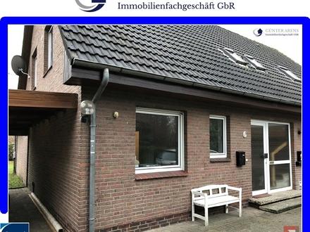 renovierte Erdgeschosswohnung mit Garage und Garten in Westerstede