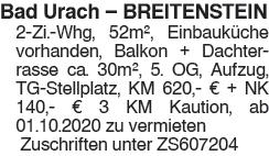 Bad Urach Breitenstein