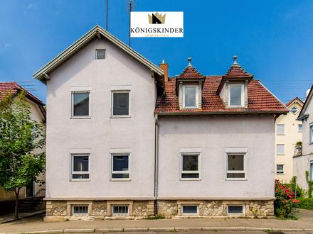 Charmantes zentral gelegenes Haus mit Wohn- und Gewerbeflächen in der Innenstadt von Winnenden