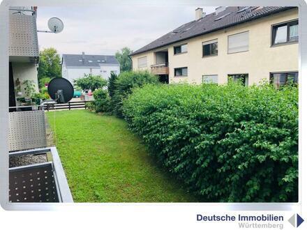 Renovierungsbedürftige 3 Zimmer EG Wohnung mit Stellplatz in TÜ-Weilheim