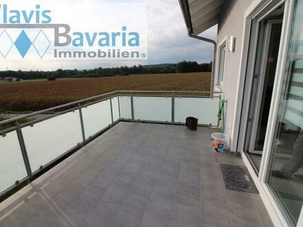 RESERVIERT! Neubauwohnung mit Terrasse (1. OG) und Einzelgarage, schöne Randlage in Vilshofen-Aunkirchen