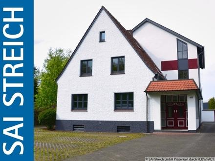 Doppelt hält besser! Bürohaus und Wohnhaus auf einem Grundstück!