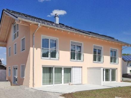 Neue DHH mit 5 Schlafzimmern, 3 Bädern und Südwest-Garten in Iffeldorf